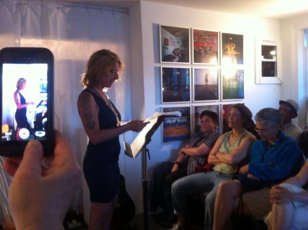 Amanda Pollock reads at GIRLS GIRLS GIRLS Tough Girls & Lucid Dreamers at AMP